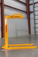 Picture of AN17W Wheeled Lightweight Pallet Lifter