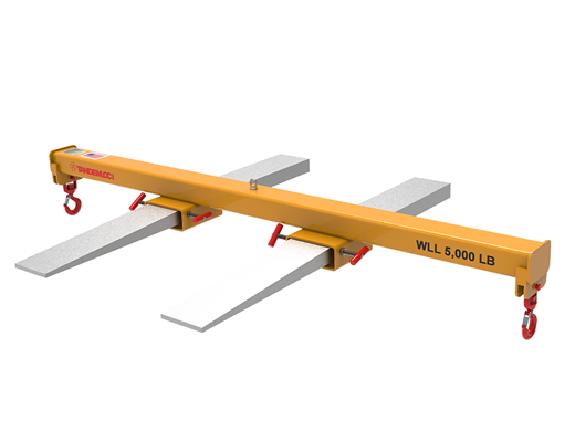 Picture of AT37 Series Double Fork-Double Hook Forklift Beam