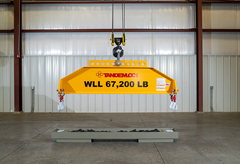 Picture of Q2500AA-299 Load Leveling Bottom Lift Sling for 20' ISO Containers