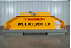 Picture of Q2500AA-400C Load Leveling Bottom Lift Sling for 40' ISO Containers